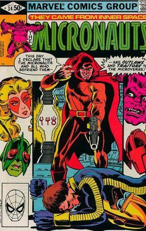 Micronauts Vol 1 34