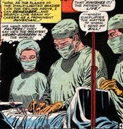 Stephen Strange (Earth-616) performs surgery in Doctor Strange Vol 1 169
