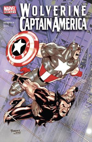Wolverine Captain America Vol 1 4
