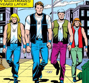 Yancy Street Gang under Ben Grimms leadership from Thing Vol 1 1