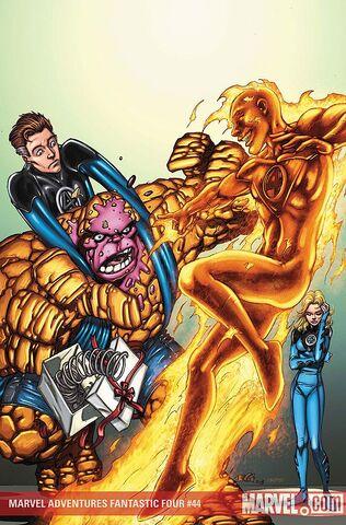 File:Marvel Adventures Fantastic Four Vol 1 44 Textless.jpg