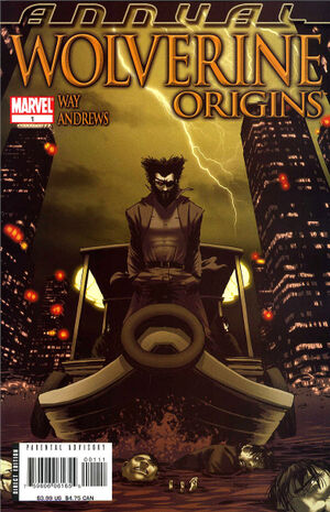 Wolverine Origins Annual Vol 1 1
