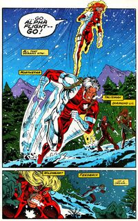 Alpha Flight (Earth-9418) from Alpha Flight Vol 1 128 002