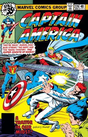 Captain America Vol 1 229