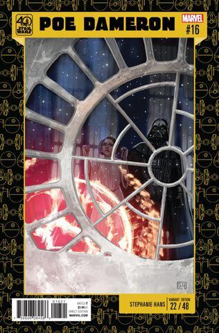File:Star Wars Poe Dameron Vol 1 16 Star Wars 40th Anniversary Variant.jpg
