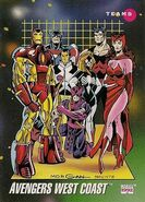 Avengers West Coast (Earth-616) from Marvel Universe Cards Series III 0001