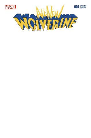 File:All-New Wolverine Vol 1 1 Blank Variant.jpg