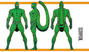 MacDonald Gargan (Earth-616) from Official Handbook of the Marvel Universe Master Edition Vol 1 17 0001