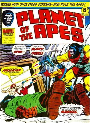 Planet of the Apes (UK) Vol 1 26