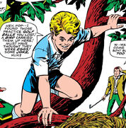 Warren Worthington III (Earth-616) as a child from X-Men Vol 1 54