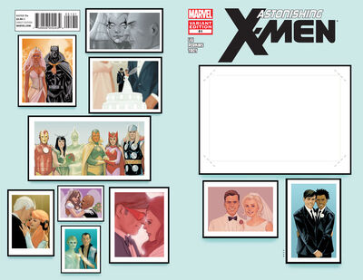 Astonishing X-Men Vol 3 51 Create Your Own Wedding Variant