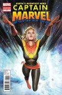 Captain Marvel Vol 7 1 Granov Variant