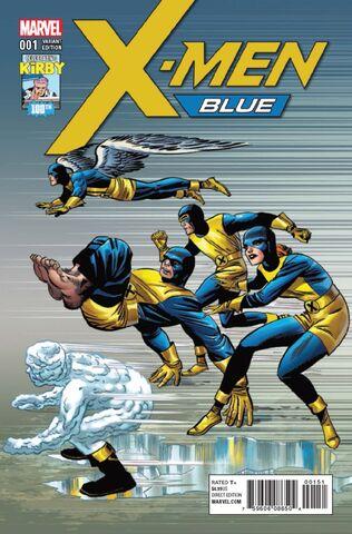 File:X-Men Blue Vol 1 1 Kirby 100th Anniversary Variant.jpg