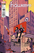 All-New Hawkeye Vol 1 3 Wu Variant