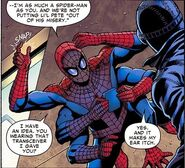 Peter Parker (Earth-92100) and Peter Parker (Earth-90214) from Spider-Verse Team-Up Vol 1 1 003