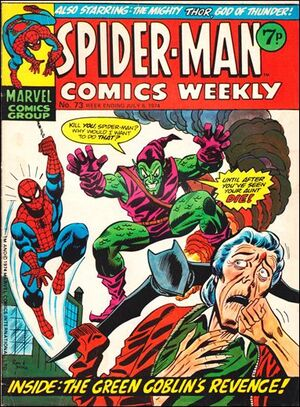 Spider-Man Comics Weekly Vol 1 73
