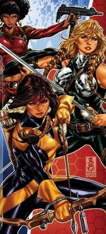 Valkyrior (Midgard) (Earth-616) from Fearless Defenders Vol 1 2 cover