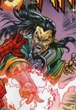 Mandarin (Earth-9411) Spectacular Spider-Man (UK) Vol 1 112