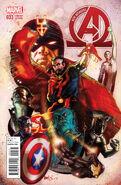 New Avengers Vol 3 33 Harris Variant