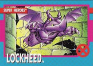 Lockheed (Earth-616) from X-Men (Trading Cards) 1992 Set 0001