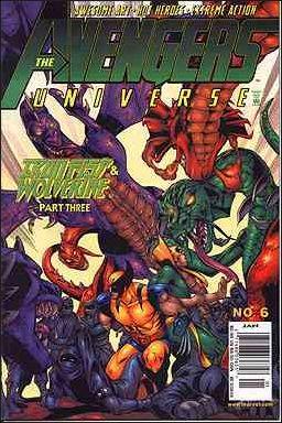 Avengers Universe Vol 1 6