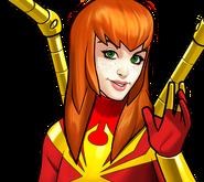 Mary Jane Watson (Earth-TRN562) from Marvel Avengers Academy 003