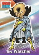 Uatu (Earth-616) from Marvel Legends (Trading Cards) 0001