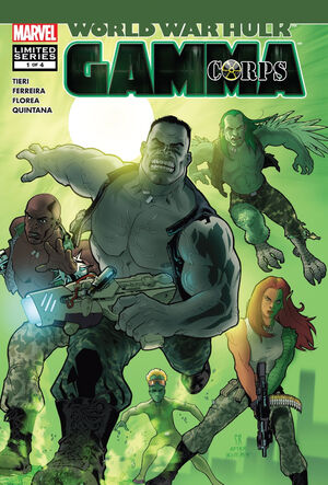 World War Hulk Gamma Corps Vol 1 1