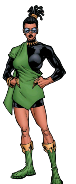 Ce'Athauna Asira Davin (Earth-616) from FF Fifty Fantastic Years Vol 1 1 001