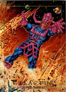 Galactus (Earth-616) from Marvel Masterpieces Trading Cards 1992 0001