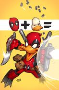 Deadpool the Duck Vol 1 1 Textless