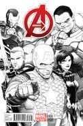 Avengers Vol 5 1 McNiven Sketch Variant