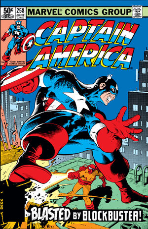Captain America Vol 1 258