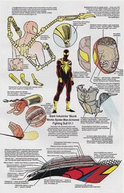 Iron Spider Armor V1.1 from Official Handbook of the Marvel Universe Vol 5 Spider-Man - Back in Black