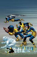 X-Men Blue Vol 1 1 Kirby 100th Anniversary Variant Textless