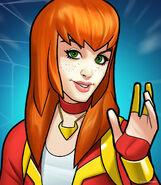 Mary Jane Watson (Earth-TRN562) from Marvel Avengers Academy 006