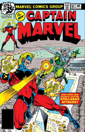 Captain Marvel Vol 1 62