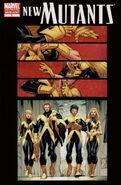 New Mutants Vol 3 1 Variant 2nd Print
