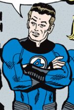 Reed Richards (Earth-77013) Spider-Man Newspaper Strips