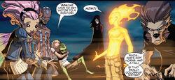 Xavier Institute student body from New X-Men Vol 2 39 0001