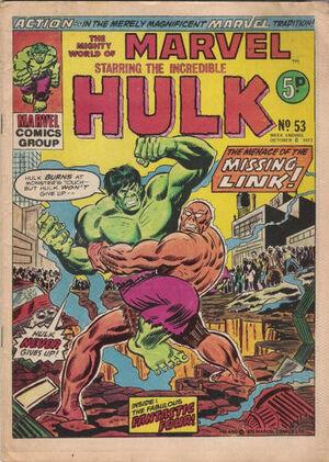 Mighty World of Marvel Vol 1 53