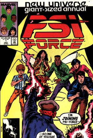 Psi-Force Annual Vol 1 1