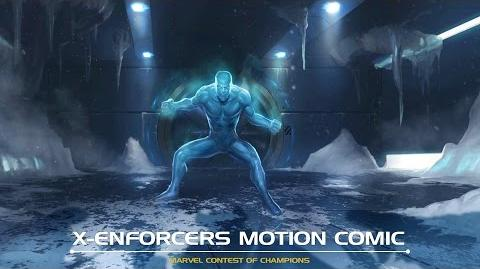 X-Enforcers Motion Comic Marvel Contest of Champions