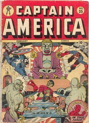Captain America Comics Vol 1 35