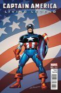 Captain America Living Legend Vol 1 3 Buscema Variant