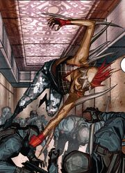 Marrow (Sarah) (Earth-616) from X-Force Vol 4 2 001