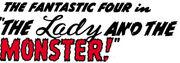 Fantastic Four Vol 1 8 Part 3 Title