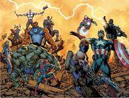 Ultimate Comics Avengers Vol 1 1 Wraparound Textless