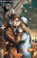 Emma Frost (Earth-616) & Scott Summers (Earth-616) from New X-Men Vol 1 155 001