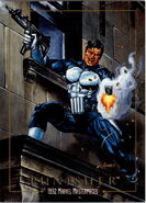 Frank Castle (Earth-616) from Marvel Masterpieces Trading Cards 1992 0001